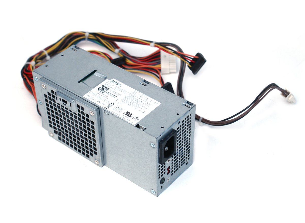 Genuine Dell 250W Watt CYY97 7GC81 L250NS-00 Power Supply Unit PSU For Inspiron 530s 620s Vostro 200s 220s, Optiplex 390, 790, 990 Desktop DT Systems Compatible Part Numbers: CYY97, 7GC81, 6MVJH, YJ1JT, 3MV8H Compatible Model Numbers: L250NS-00, D250ED-00 by Dell (Image #1)