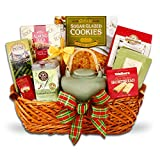 Warm up the Holidays with Tea and Cookies Gift Basket