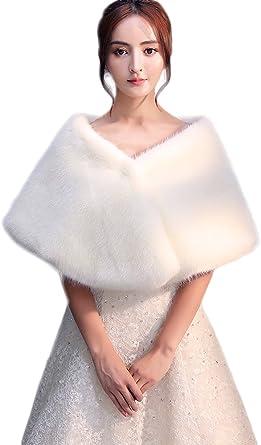 bolero fourrure pour robe de soirée