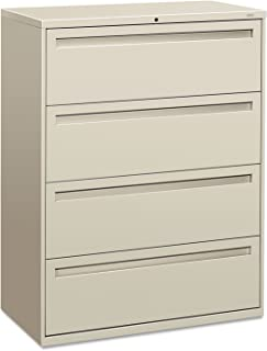 product image for HON 794LQ 700 Series Four-Drawer Lateral File, 42w x 19-1/4d, Light Gray