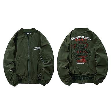 976d424f2a4f 2018 Jacket Men Hip Hop Bomber Jackets Streetwear Chinese Style Pilot Short Jacket  Coat
