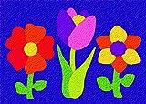 Lauri Crepe Rubber Puzzles - Flowers