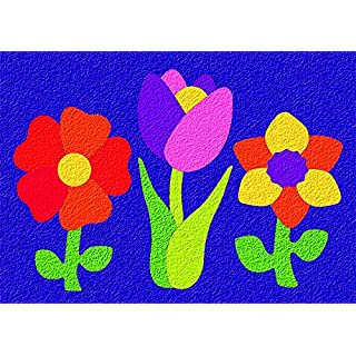 PlayMonster Lauri Crepe Rubber Puzzles - Flowers