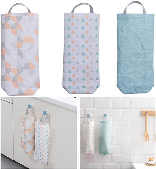 Hanging Plastic Bag Holder Fall Grocery Bag Holder Grocery Bag Dispenser Plastic Bag Holder Shopping Bag Holder