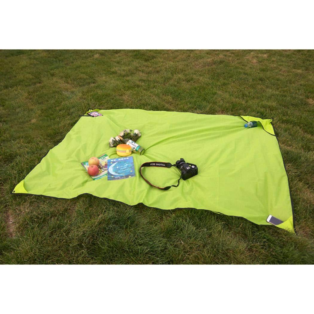Legros8 Picnic Mats Waterproof Outdoor Tents Lawn Mats Outing Picnic Cloth Cots