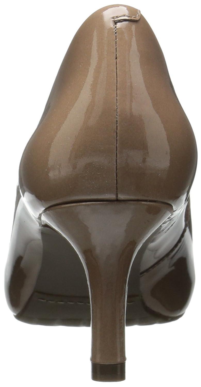Rockport Women's Sto7h65 Dress Pump B01ABRIAIU 6.5 B(M) US|Rich Taupe Patent