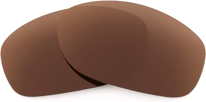 Revant Verres de Rechange pour Oakley Pit Bull - Compatibles avec les Lunettes de Soleil Oakley Pit Bull Marron Foncé - Polarisés Elite