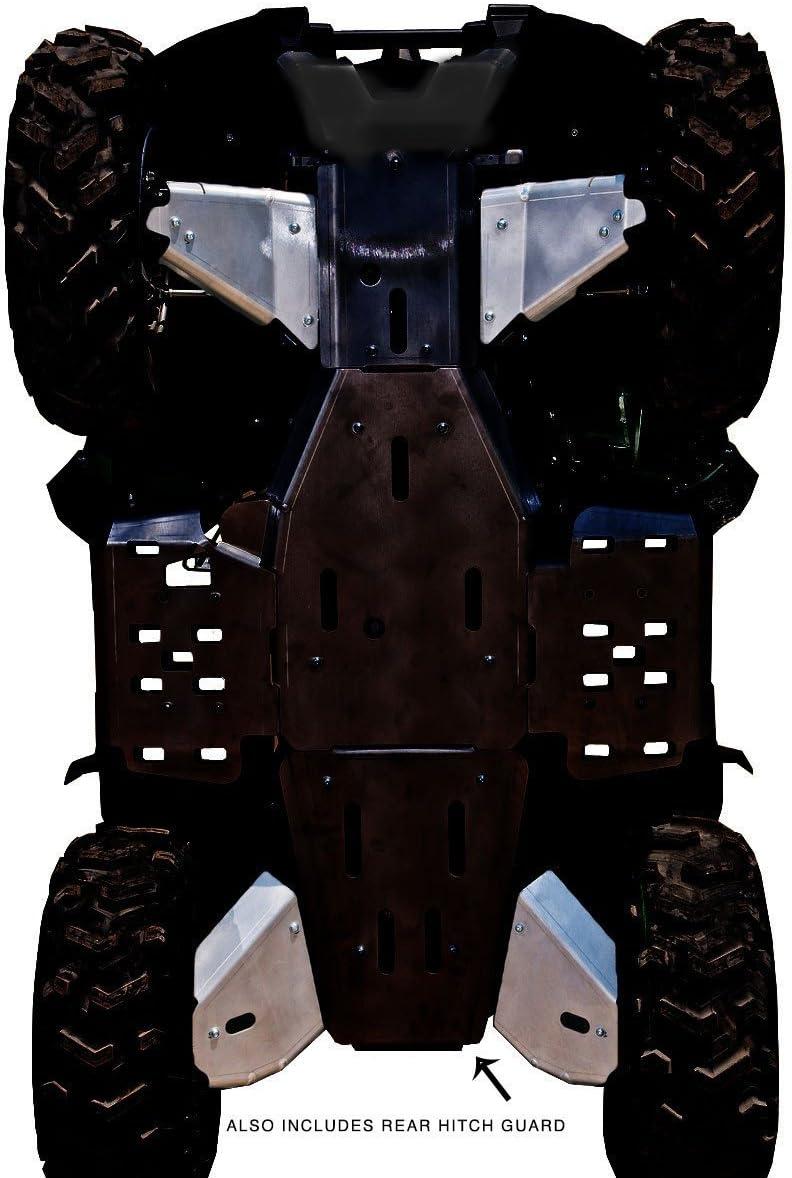 2018 Yamaha Kodiak 450 4-Piece Aluminum A-Arm /& CV Boot Guard Set By Ricochet 961A