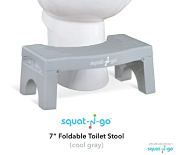 Phenomenal Squat N Go 7 Folding Squatting Stool The Only Foldable Toilet Stool Convenient And Compact Great For Travel Fits All Toilets Folds For Easy Machost Co Dining Chair Design Ideas Machostcouk