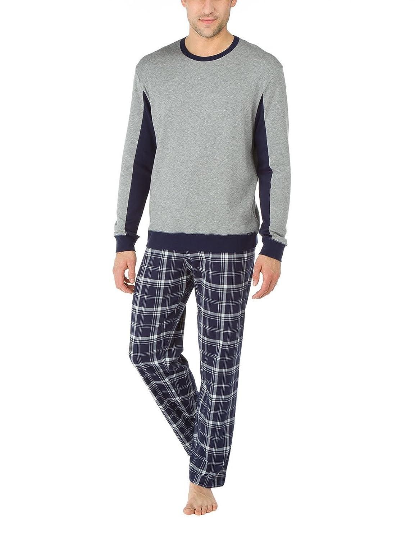 Calida Herren Zweiteiliger Schlafanzug Pyjama Camden