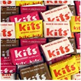 Kits Assorted Original Taffy Chew Squares - 100 Ct. Case