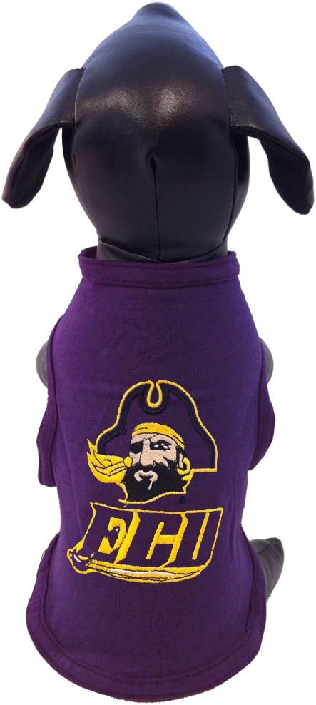 XX-Small NCAA East Carolina Pirates Cotton Lycra Dog Tank Top