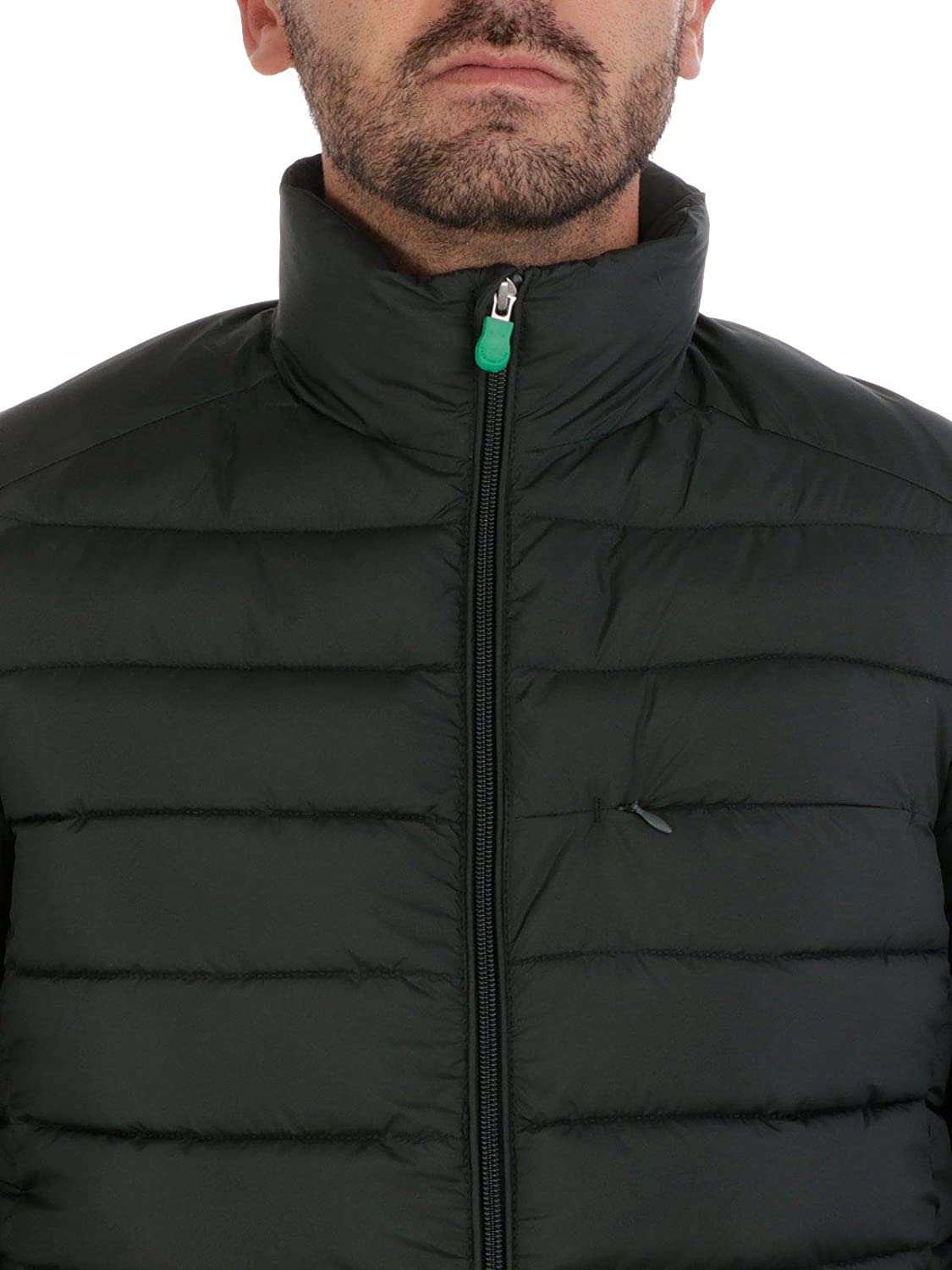 Save The Duck Mens D3034MRECY71178 Green Polyester Down Jacket
