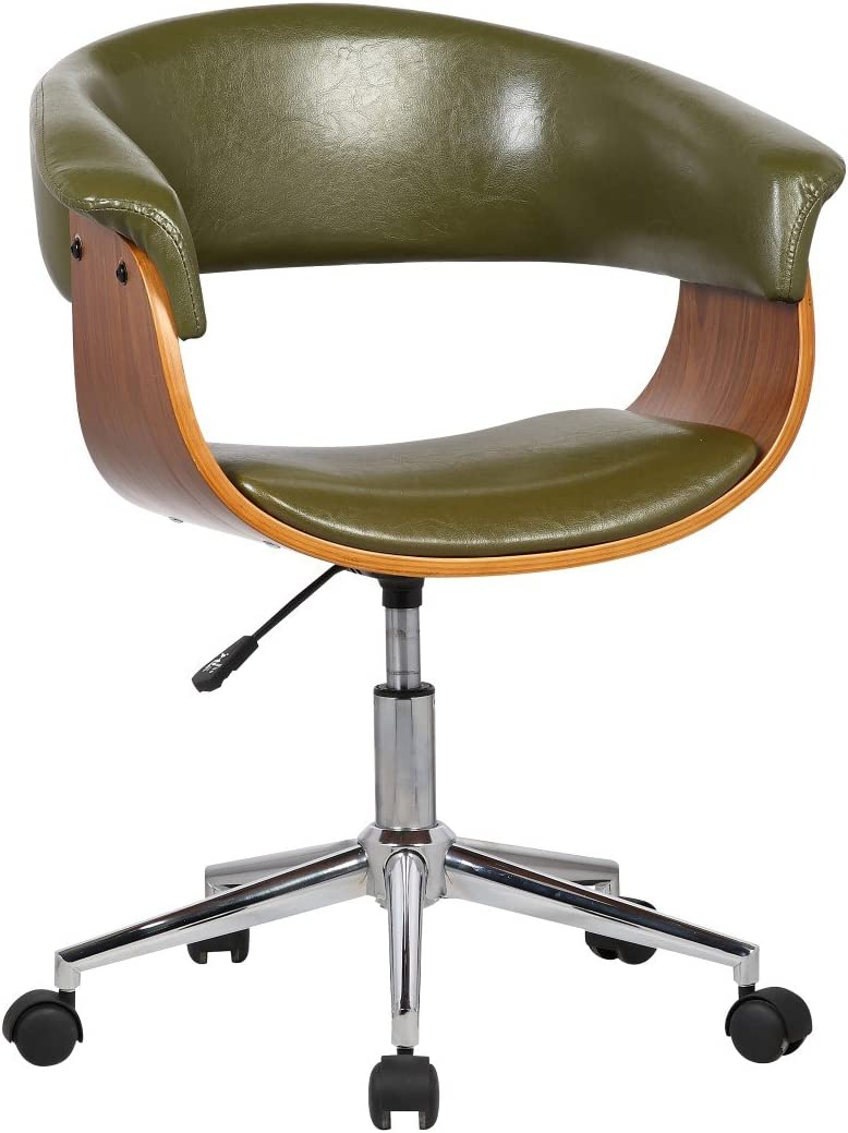 Porthos Home Atrium Comfortable Executive Height Adjustable, Durable, as a Home Office Chair, One Size, Green