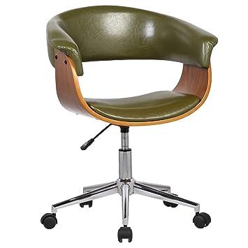 Amazoncom Porthos Home Atrium Adjustable Office Chair Green
