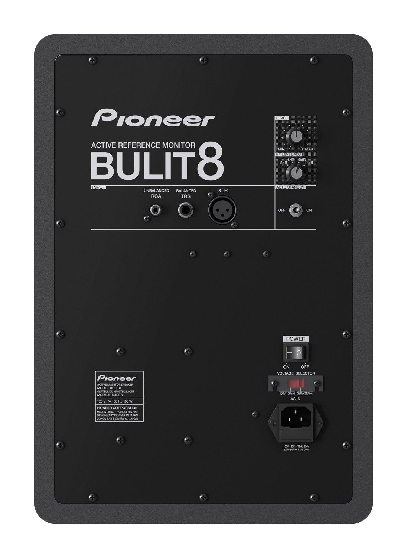 Back facing Pioneer BULIT8