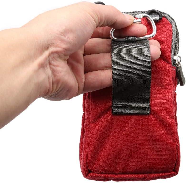 jbTec Pochette de Protection en Nylon pour t/él/éphone Portable 180 x 110 x 35 mm Bleu Marine