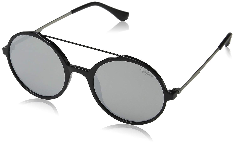 Pepe Jeans Ibis Gafas de Sol, Negro (Black/Grey), 50.0 para ...