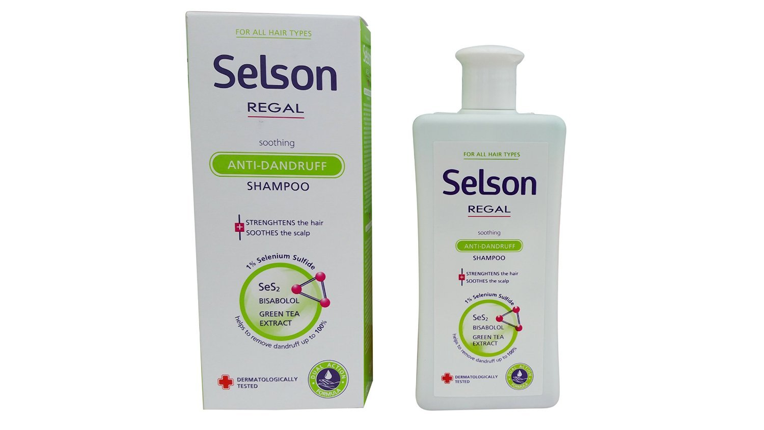 Shampoo Selson Anticaspa Calming For All Hair Type of Regal Rosa impex
