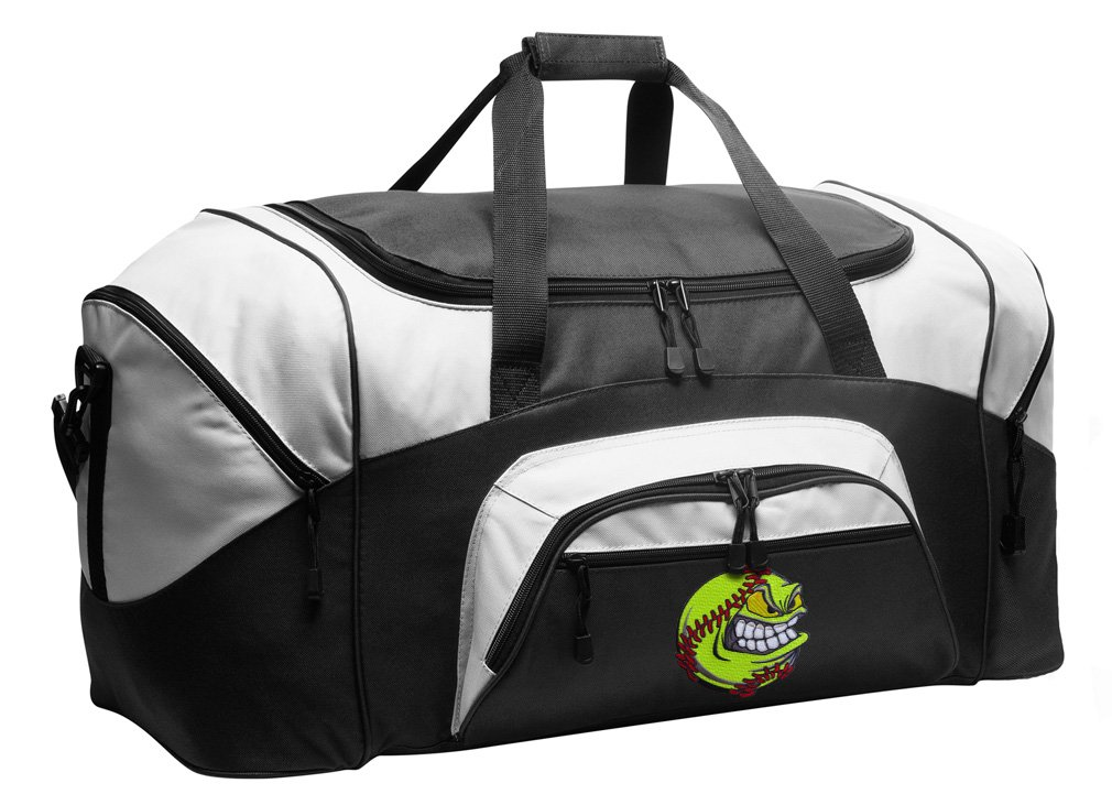 Softball Duffel Bag Softball Gym Bags or Suitcase