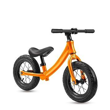 AMYDREAMSTORE Bebé Bicicleta sin Pedales, 12 Pulgadas Ligero ...