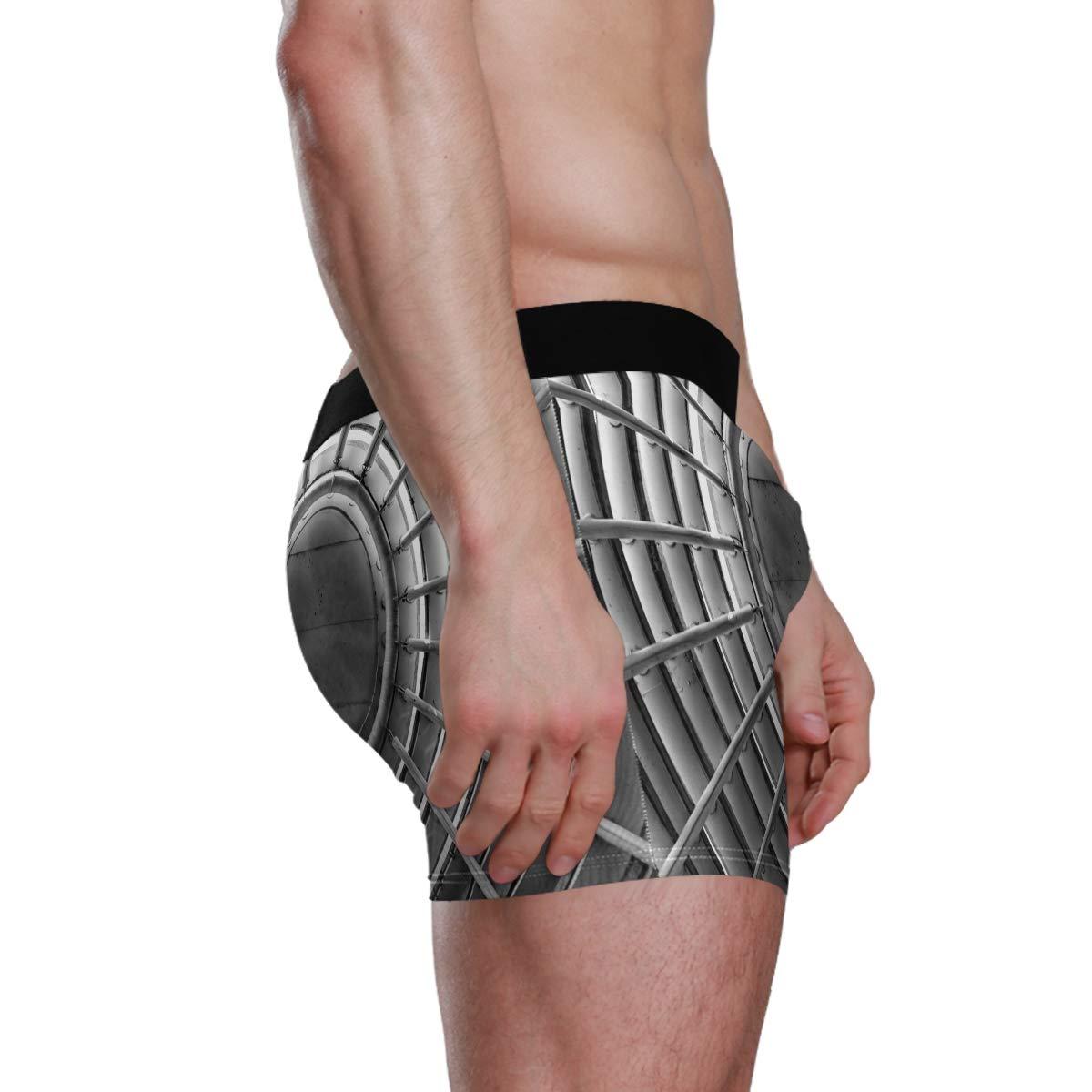 UNISE BuildingHanes Boxer Briefs Comfortable Briefs Soft Boyshorts Underwear for Men Pack