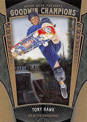 Tony Hawk trading card (Skate Board Legend) 2015 Upper Deck Goodwin #51