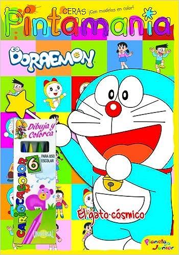 Pintamanía Ceras: El gato cósmico: Autores Varios Doraemon: 9788408109518: Amazon.com: Books