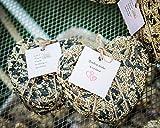 Heart Shaped Bird Seed Wedding Favor/Party Favor Ornament