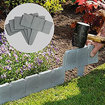 Amazon.com : Suncast BSE10TG Edging, Borderstone, 10 Pack