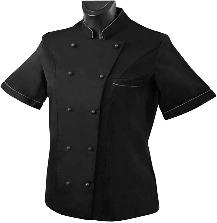 Chef Vestes Femme Manches Courtes Ref.848B Misemiya
