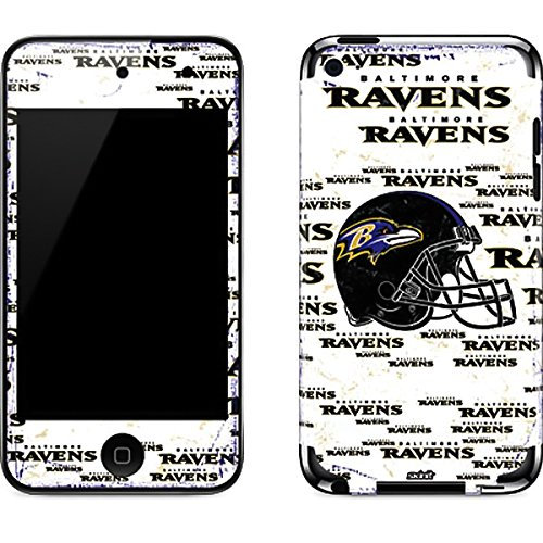 Baltimore Ravens Ipod Skin - NFL Baltimore Ravens iPod Touch (4th Gen) Skin - Baltimore Ravens - Blast Vinyl Decal Skin For Your iPod Touch (4th Gen)