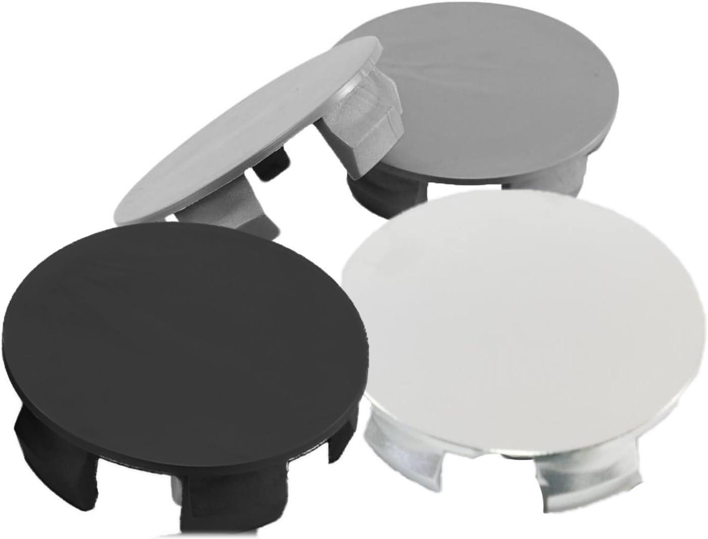 4 piezas universal sin logotipo Tapas de centro de ruedas para todos los coches