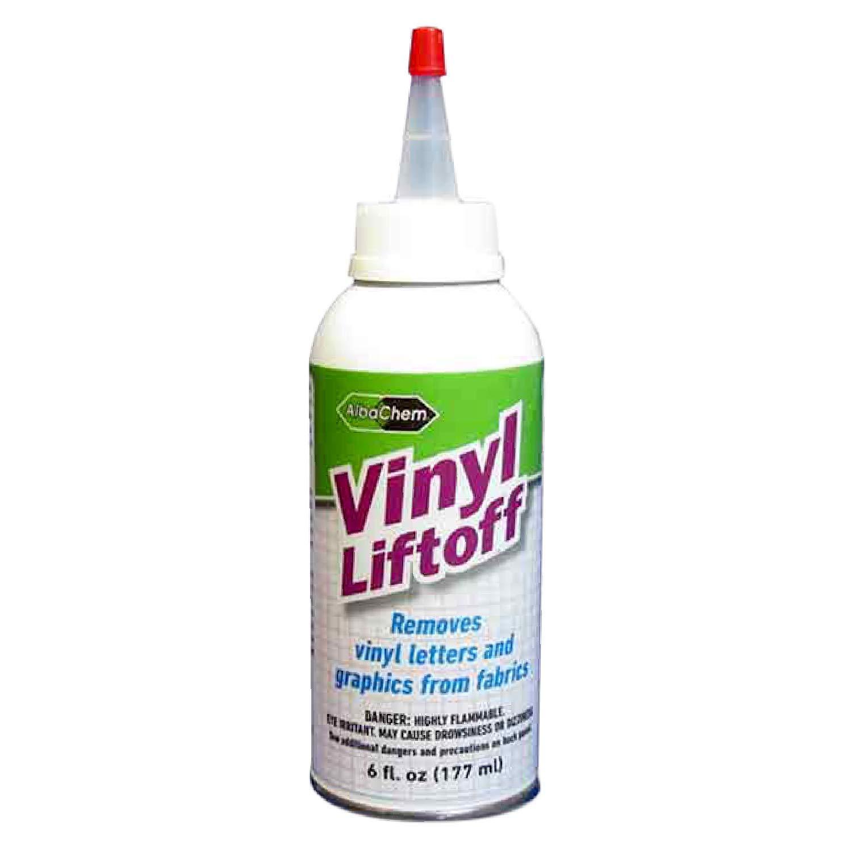 AlbaChem VLR Vinyl Lifter for Fabric - Fast-Drying & No Residue Vinyl Remover (6 fl oz)