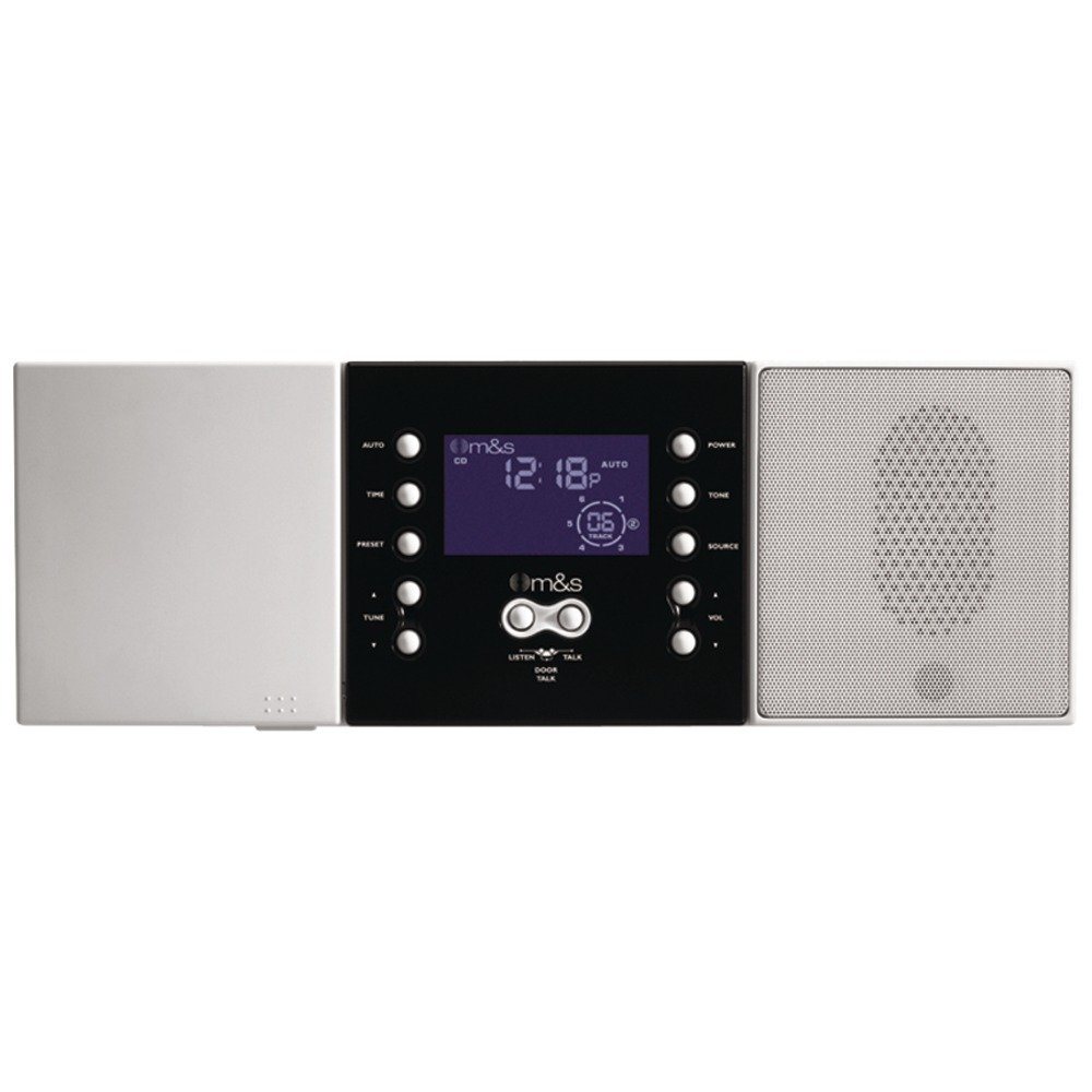 M&S SYSTEMS DMC3-4 3- or 4-Wire Retrofit Music/Communication System Master Unit (White) electronic consumer
