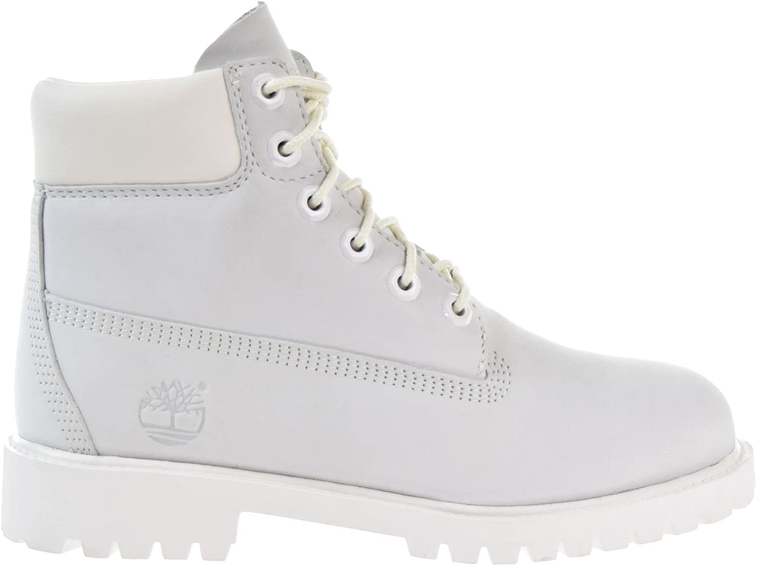 Timberland 6 Inch Waterproof Big Kid's Boots White a1mli