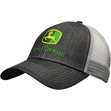 John Deere Dark Denim Style Mesh Back Hat