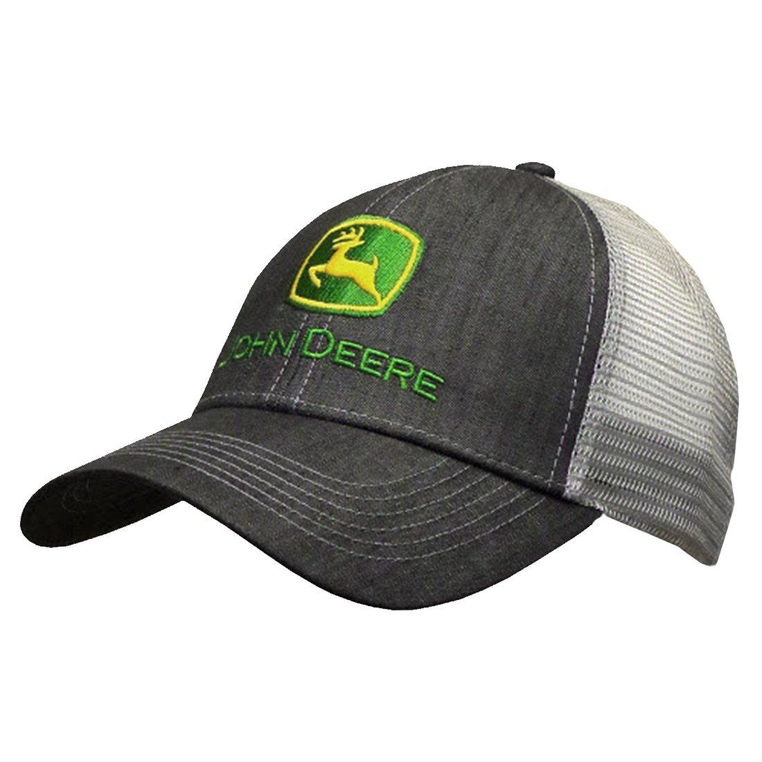 John Deere Dark Denim Style Mesh Back Hat