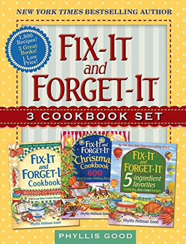(Fix-It and Forget-It Box Set: 3 Slow Cooker Classics in 1 Deluxe Gift Set)