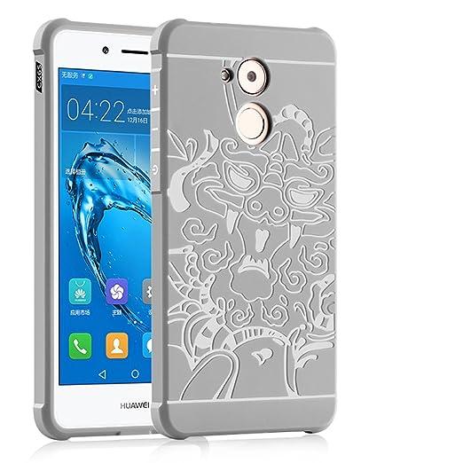"""2 opinioni per OFU® TPU silicone Case opaca per Huawei Nova Smart 5.0"""" Custodie e cover-grigio"""