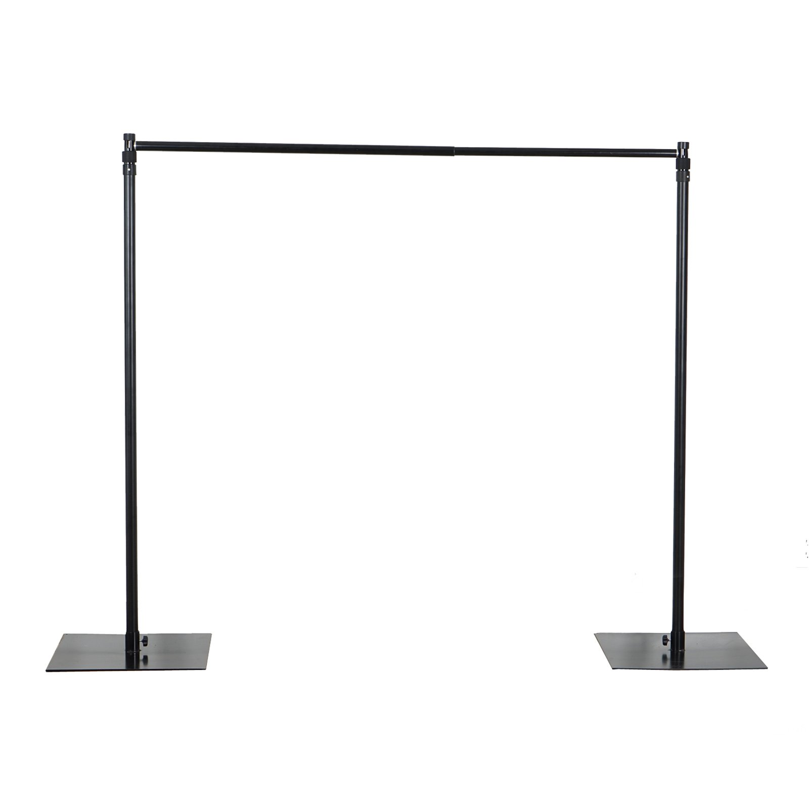 Efavormart 10ft x 10ft Heavy Duty Pipe and Drape Kit Backdrop Support with Weighted Steel Base