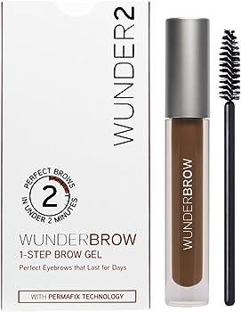 Wunder2 Long Lasting Eyebrow Gel for Waterproof Eyebrow Makeup