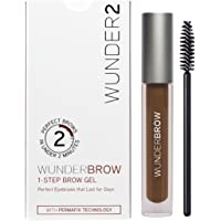 WUNDER2 WUNDERBROW Long Lasting Eyebrow Gel for Waterproof Eyebrow Makeup, Auburn Color