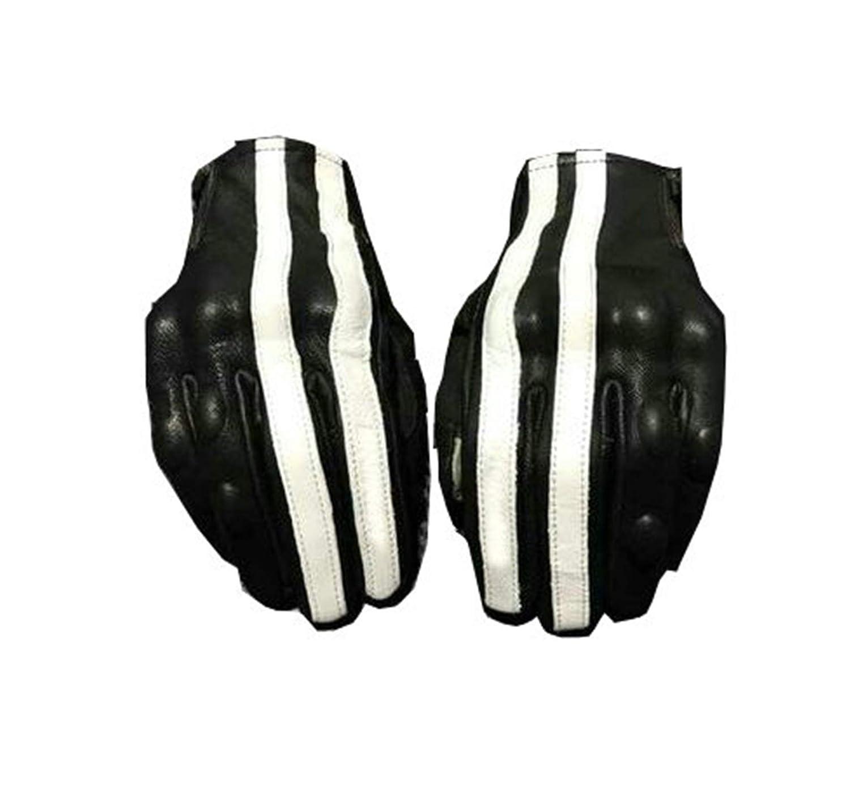 Blisfille Handschuhe Roller Damen Verschleißfeste Atmungsaktive Lederhandschuhe Von Knight Racing Mit Dem Windfesten Pull Pull Fingergriff Eines Off Road Motorrads Ausgestattet