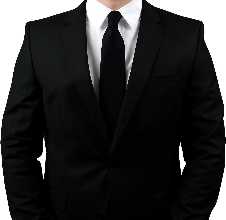 Adamant - Corbata - para hombre negro negro1: Amazon.es: Ropa y ...