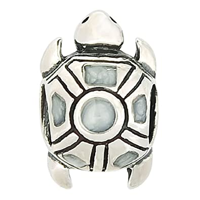 Sea Turtle 925 Sterling Silver Charms Tortoise European Beads for Snake Chain Bracelets By Sandcastle Charm opqDRjZ