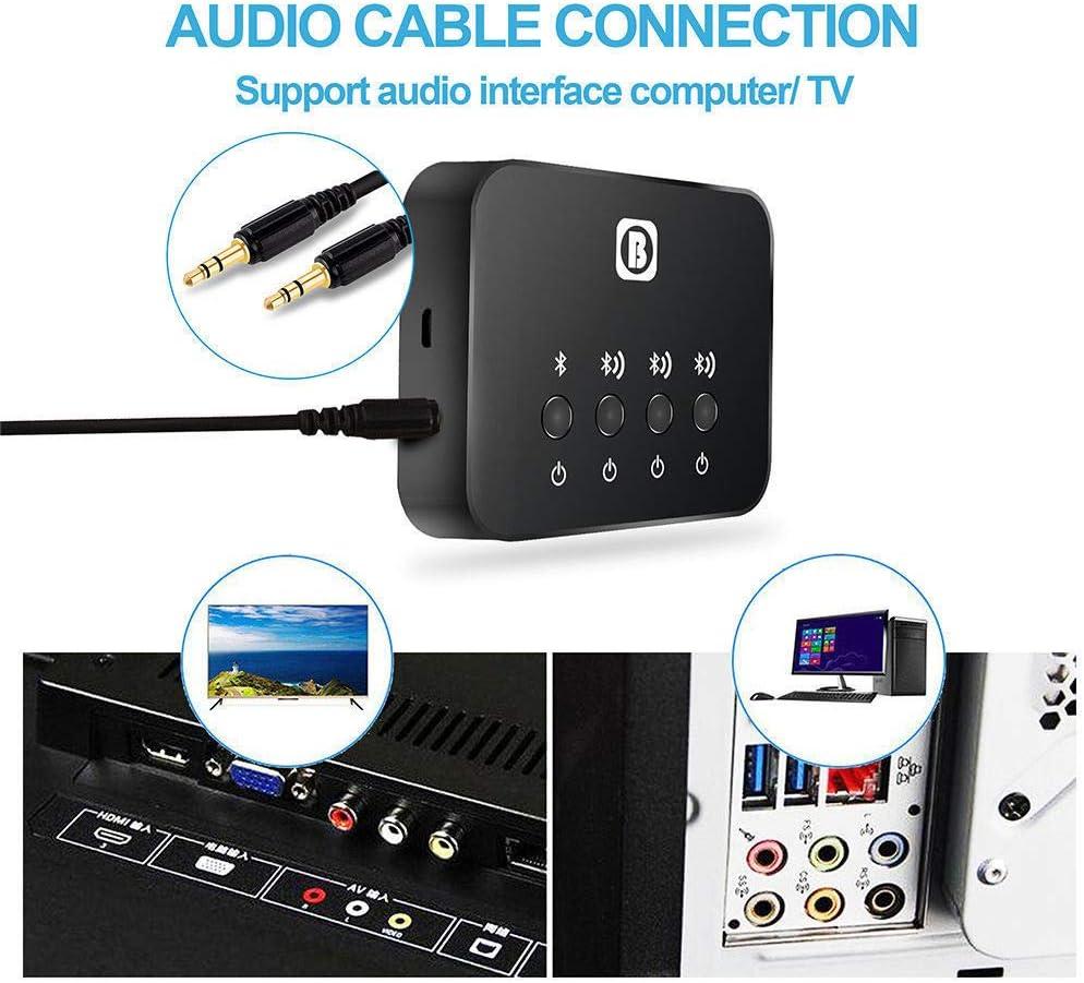 Portable Bluetooth Splitter Audio Fast Transmitter Elektronik
