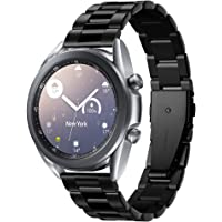 Spigen Samsung Galaxy Watch Active 2 / Galaxy Watch 3 (41mm) / Huawei Watch GT 2 Kayış (20mm) Modern Fit Band Black…