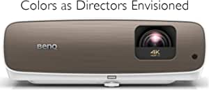 BenQ HT3550 4K Home Theater Projector with HDR10 and HLG   95% DCI-P3 and 100% Rec.709 for Accurate Colors   Dynamic Iris for Enhanced Darker Contrast Scenes