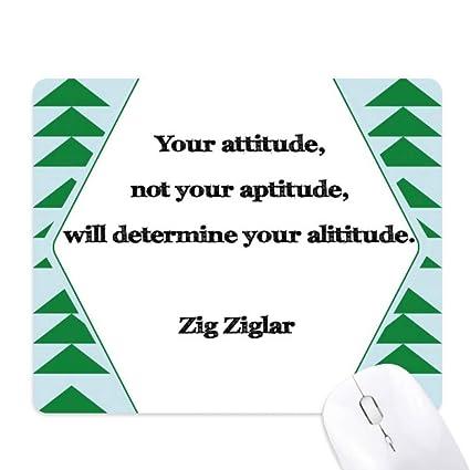 Amazon com : Your Attitude Not Aptitude Determine